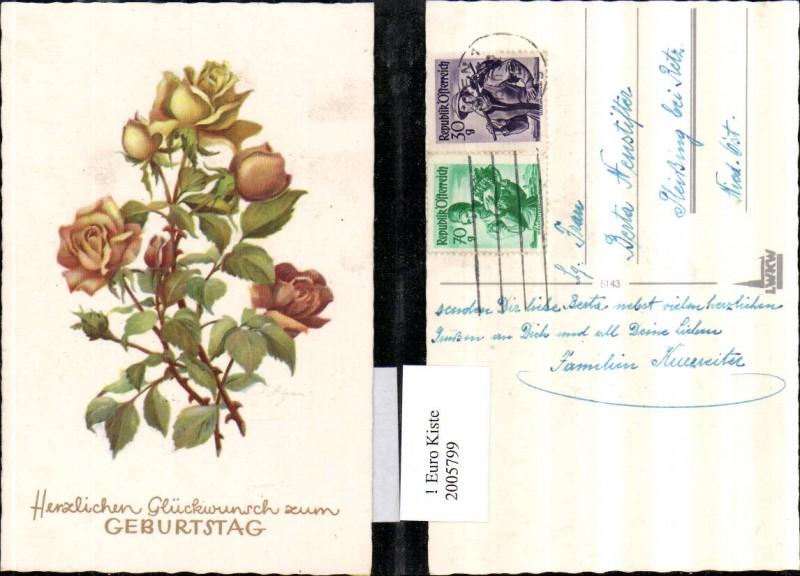 2005799,Geburtstag Rosen Rosenblüten Knospen Dornen