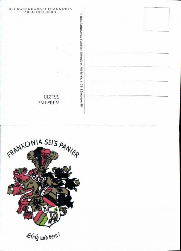 551238,Studentika Studentica Frankonia seis Panier Heidelberg Couleurkarte