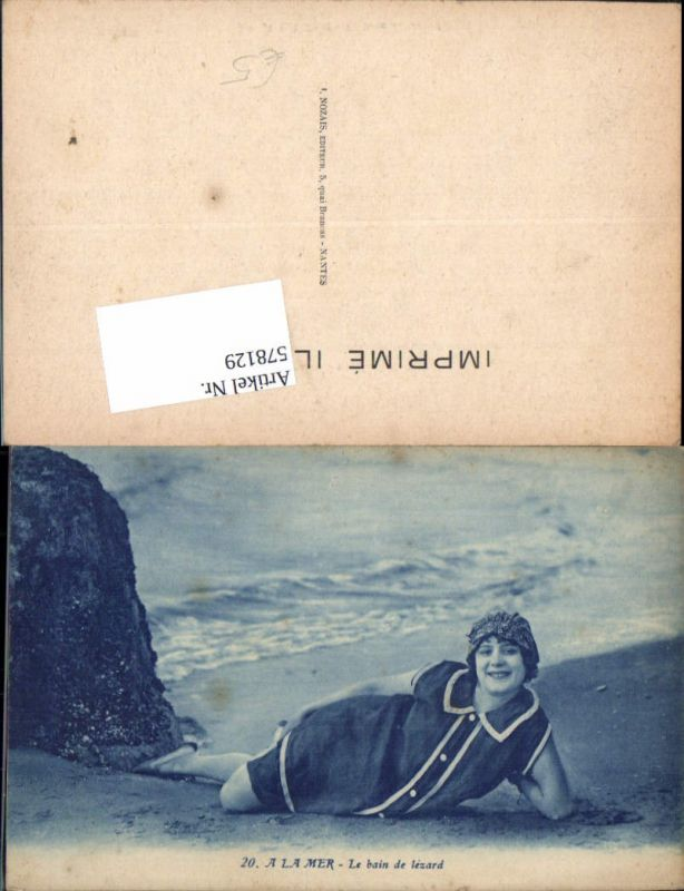 578129,Bademode Strandleben Strand Erotik Frau