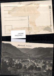 2002367,Mariazell Teilansicht