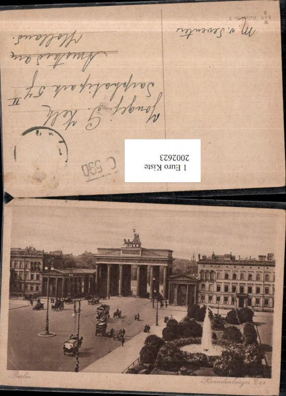 2002623,Berlin Brandenburger Tor Brunnen