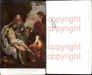 408159,Künstler Ak Van Dyck Christ taken from the Cross Religion