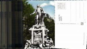 600485,Foto Ak Wien Vienna Mozartdenkmal Denkmal Statue