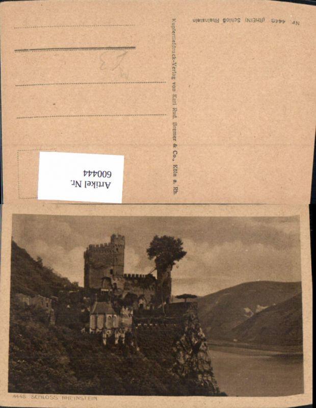 600444,Schloss Rheinstein Burg