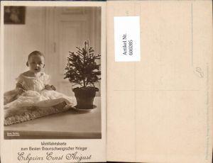 600285,Kind Kleinkind Erbprinz Ernst August Adel Monarchie Weihnachtsbaum