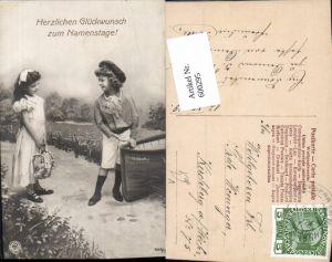 600295,Kind Kinder Mädchen Kleid Bub Junge Matrosenanzug Boot Namenstag pub NPG 565/3