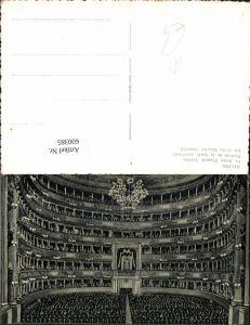 600385,Milano Mailand La Scala Theatre Inside Theater Oper Innen