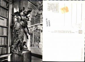 600423,Foto Ak Bibliothek Stift Admont Der Tod Statue Detailansicht