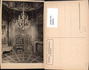 600426,Bibliothek Potsdam Schloss Sanssouci Luster Interieur
