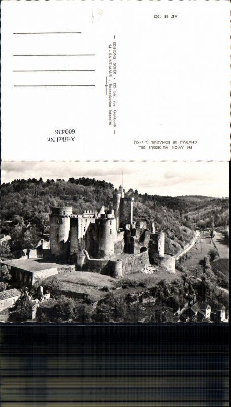 600436,Foto Ak En Avion Au-Dessus de Chateau de Bonaguil Schloss France