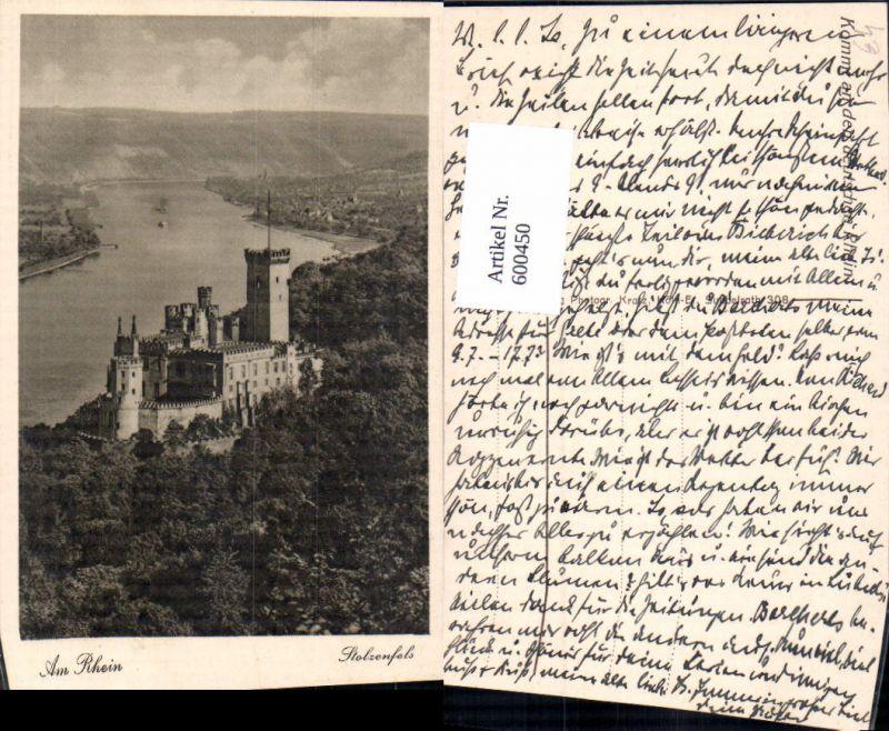 600450,Stolzenfels Burg Schloss Am Rhein
