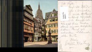 600471,Frankfurt a. Main Saalgasse Statue