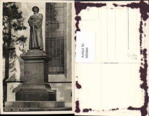 600484,Foto Ak Zürich Zwingli-Denkmal Statue