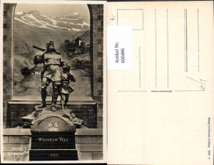 600486,Altdorf Telldenkmal Wilhelm Tell Statue