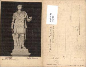600490,Roma Rom Palazzo de Conservator Guilio Cesare Statue