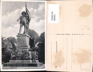 600491,Innsbruck Andreas-Hofer-Denkmal Statue