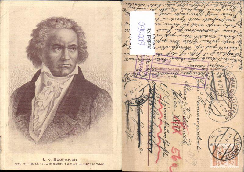 600560,Komponist Ludwig v. Beethoven Portrait 0