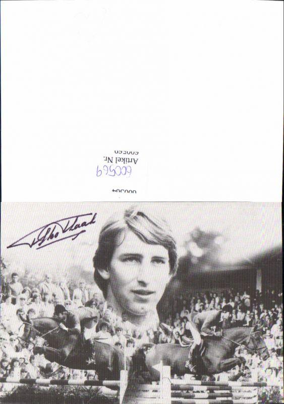 600569,Sportler Sport Springreiten Pferd Autogramm