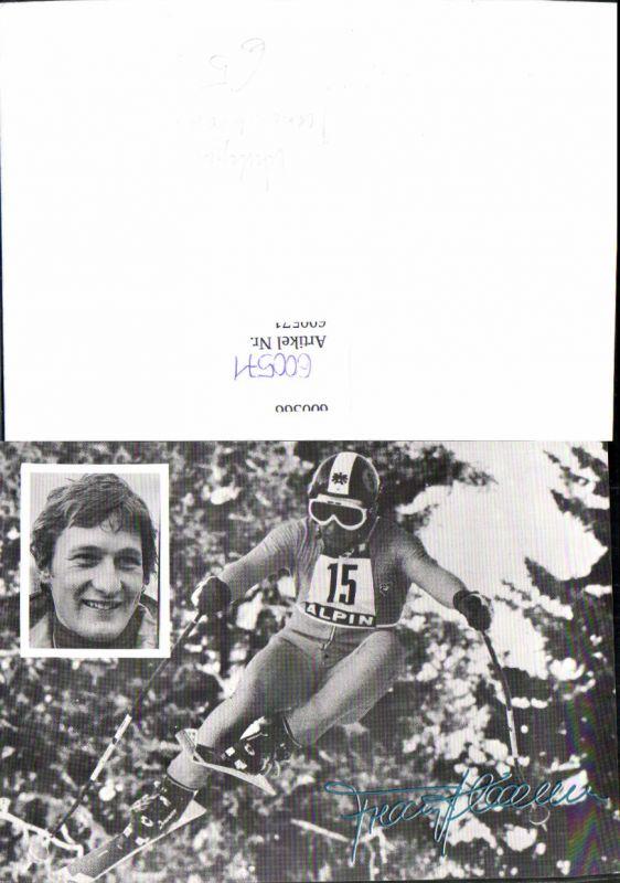 600571,Sportler Franz Klammer Ski Schi Wintersport Sport Autogramm
