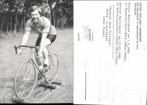 600572,Sportler Dieter Dölling Hannover Dauerradfahren Trainingsrolle Weltrekord Sport