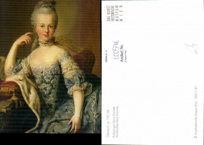 600576,Künstler Ak Maria Antoinette France Adel Monarchie 0