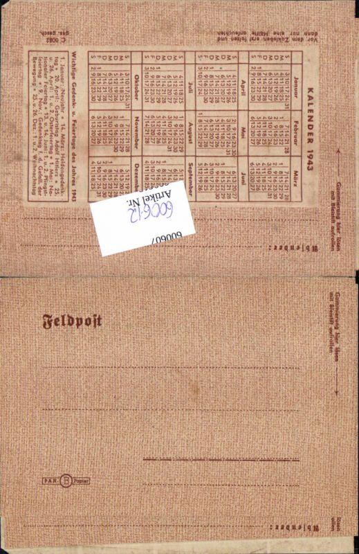 600612,Feldpost WK2 Einbeck Hannover
