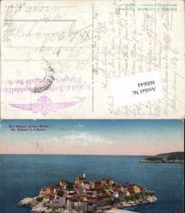 600644,San Stefano Budua Castelnouvo Feldpost K. u. K. Luftschifferabteilung Fliegerkompagnie