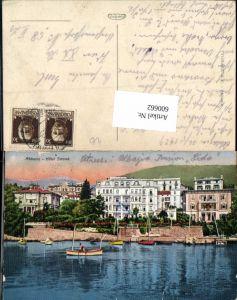 600662,Abbazia Hotel Strand Feldpost K. u. K. Luftschifferabteilung Fliegerkompagnie