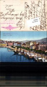 600683,Split Spalato Riva Vechhia Feldpost K. u. K. Luftschifferabteilung Fliegerkompagnie