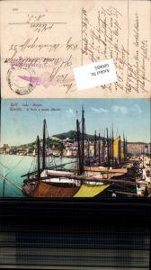 Split Spalato Porto Hafen Luka Marjan Marian Feldpost Luftschifferabteilung Fliegerkompagnie