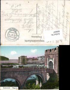 600697,Dubrovnik Ragusa Feldpost K. u. K. Luftschifferabteilung Fliegerkompagnie