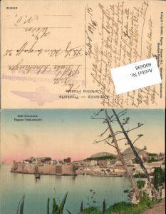 600698,Dubrovnik Ragusa Cieli Feldpost K. u. K. Luftschifferabteilung Fliegerkompagnie