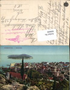 600699,Dubrovnik Ragusa Feldpost K. u. K. Luftschifferabteilung Fliegerkompagnie