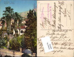 600705,Dubrovnik Ragusa Paome Las Palmas Feldpost K. u. K. Luftschifferabteilung Fliegerkompagnie