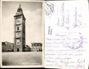 603612,Foto Ak Enns Stadtturm Feldpost Kf. Ers. Abt. 17 Komp.