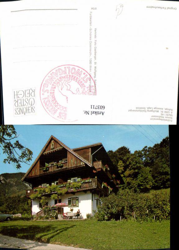 603711,St Wolfgang i. Salzkammergut Frühstückspension Hödlmoser