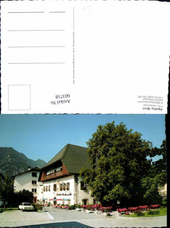 603718,Bad Goisern Agatha-Wirt