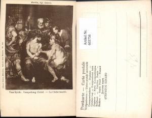 603756,Künstler Ak Van Dyck Verspottung Christi Religion pub Ottmar Zieher 156