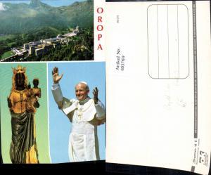 603769,Mehrbild Ak Oropa Papst Johannes Paul II Religion