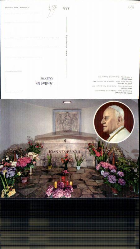 603776,Vatikan Vaticano Roma Rom Basilica S. Pietro Petersdom Grab S.S. Giovanni XXIII Papst Religion