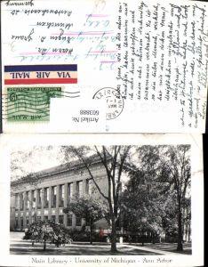 603888,Main Library University of Michigan Ann Arbor Bibliothek