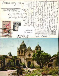 603907,Mission San Carlos Borromeo Carmel California