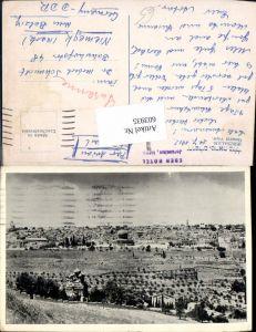 603935,Jerusalem General view Israel