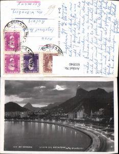 603940,Foto Ak Rio de Janeiro Vista de Botafogo Ansicht b. Nacht Brasilien