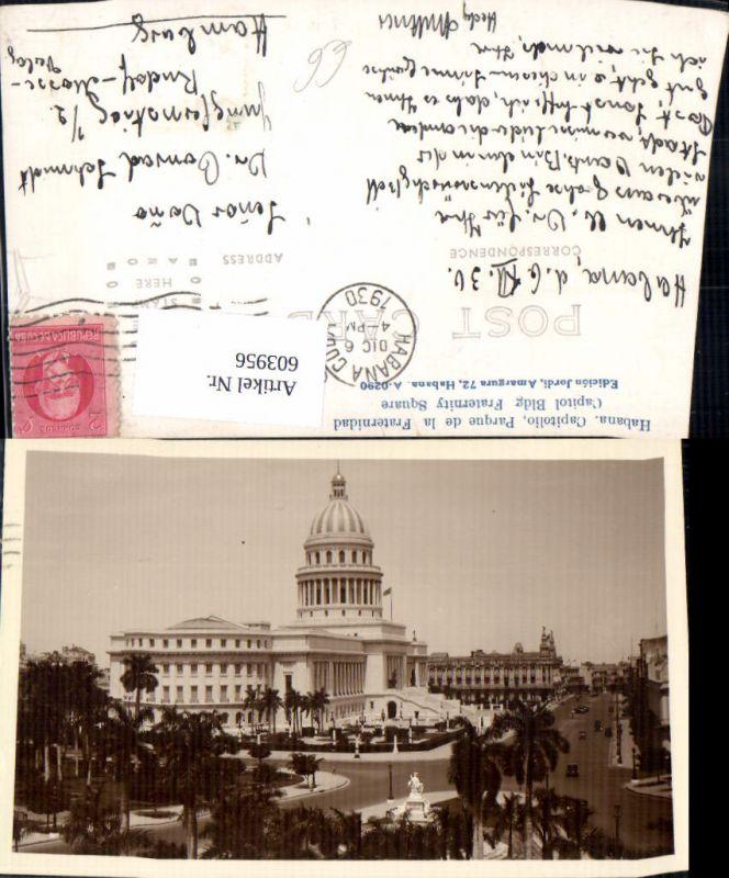 603956,Kuba Habana Havana Capitolio Parque de la Fraternidad