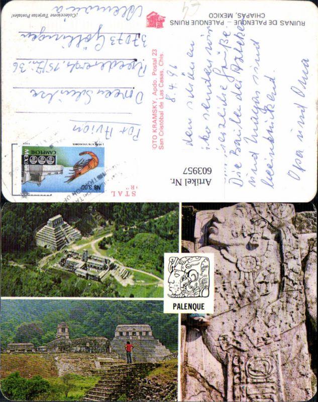 603957,Chiapas Mexico Mexiko Ruinas de Palenque Palenque Ruins Ruinen
