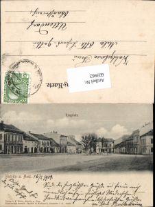 603962,tolle AK Bistritz a. Host Bystrice pod Hostynem am Hostein Prerov Kromeriz