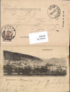 603963,Bodenbach an der Elbe 1899 Decin Tetschen pub Hermann Seibt