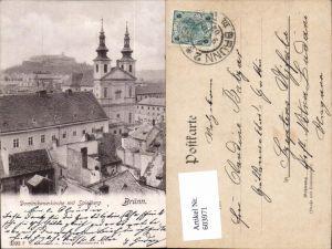 603971,Brünn Brno Dominikanerkirche Spielberg pub Ledermann 3593