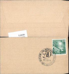 603973,Stempel München 1950 Deutsche Handwerksmesse
